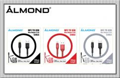 ALMOND MFI 數據線 120cm